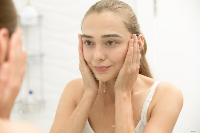 Facial treatments available at the med spa.