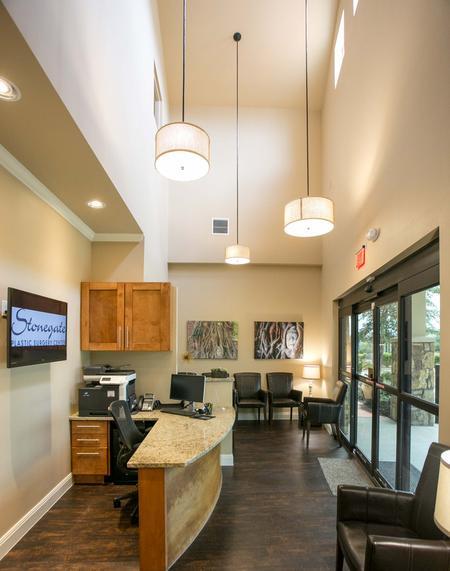 Round Rock Plastic Surgery Facility waiting area